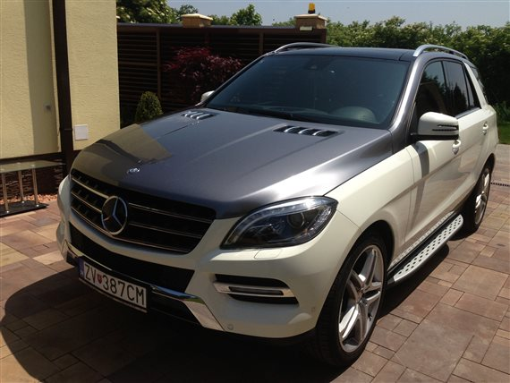 polep 3M Mercedes grey