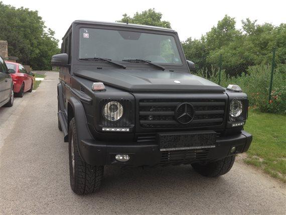polep 3M polep 3M Mercedes G čierna matná