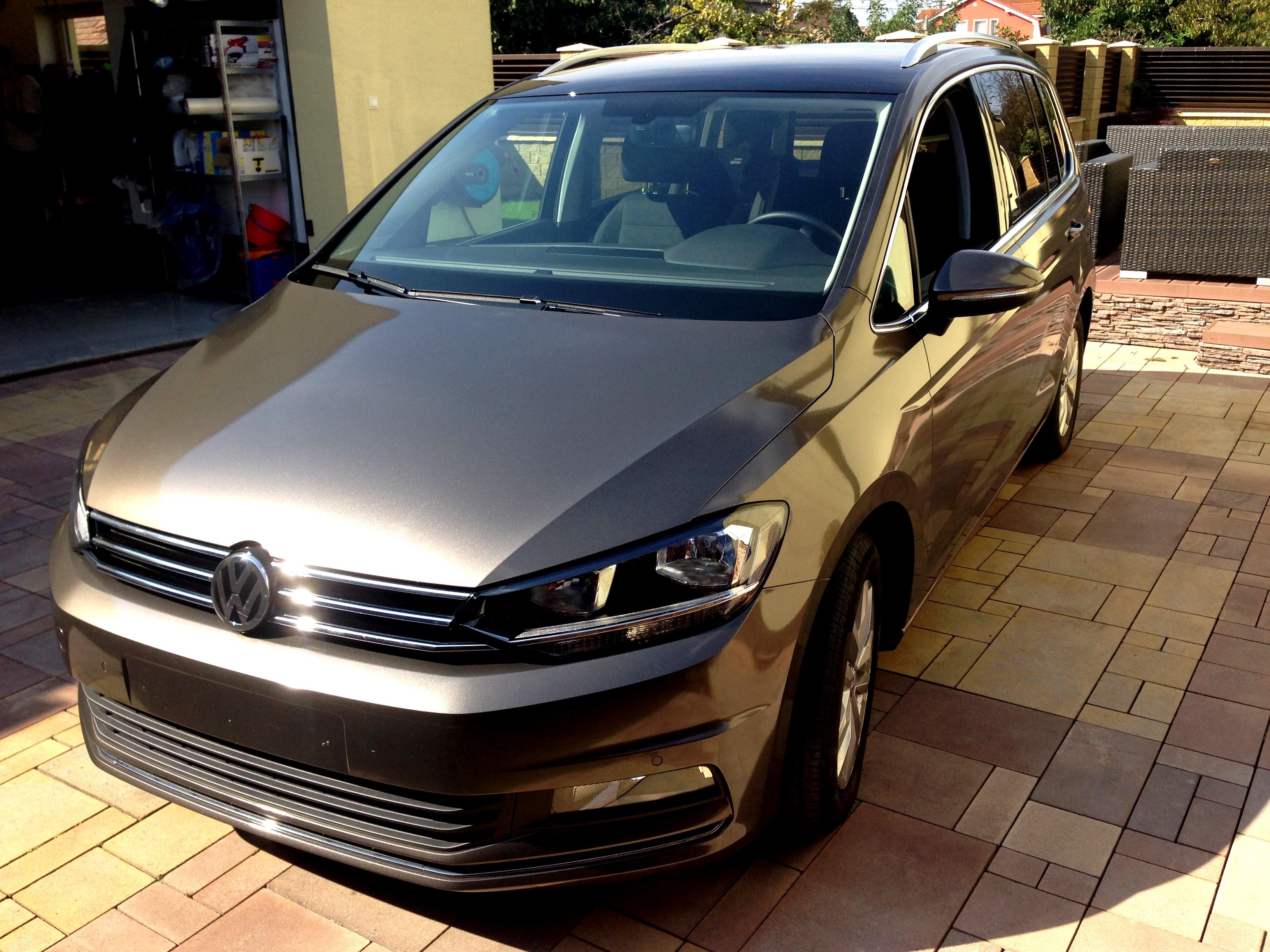 Polep VW Touran od ABARTstyle